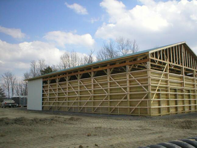 Pole Barn Construction for the Glens Falls, Queensbury